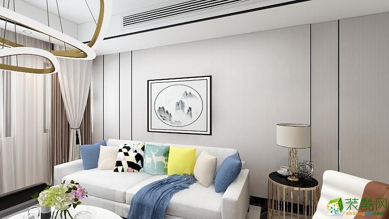 恒輝假日廣場-三居室-現代簡約風格