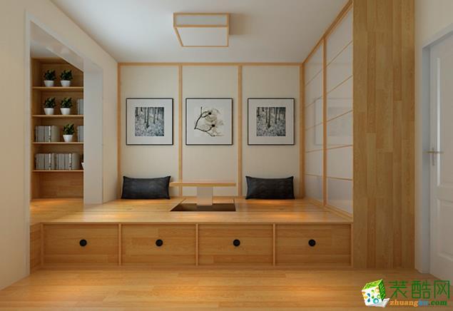 济南凯利隆和装饰-95平米日式三居室装修案例