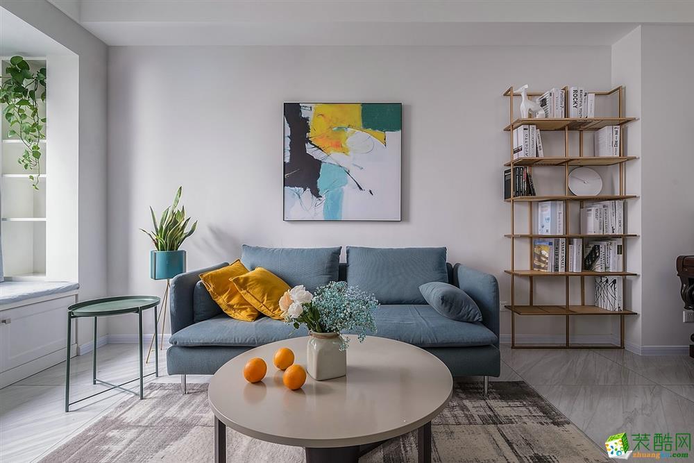 武漢90平方兩室一廳簡居  簡潔明朗舒適