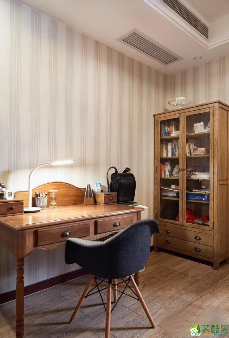 140平米四居室美式风格装修效果图