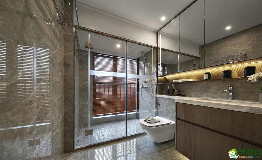 110三居室新中式风格装修效果图