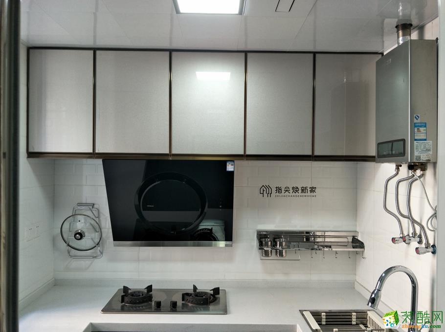 重慶舊房翻新-廚房翻新局部翻新裝修案例圖-煥新家裝飾