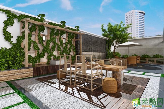 陽臺  清水灣266平米別墅歐式風格裝修
