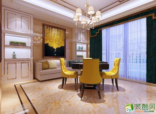 餐廳  清水灣266平米別墅歐式風格裝修