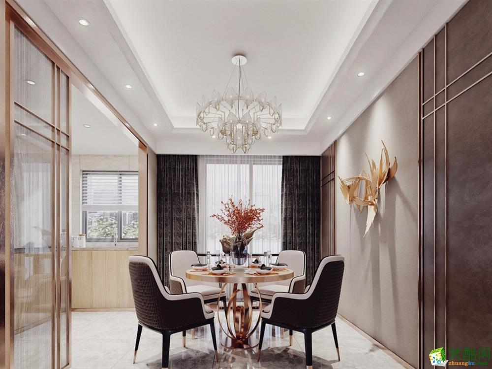 三居室古典风格装修效果图