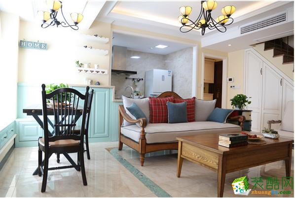 联度装饰―100�O三居室美式风格案例