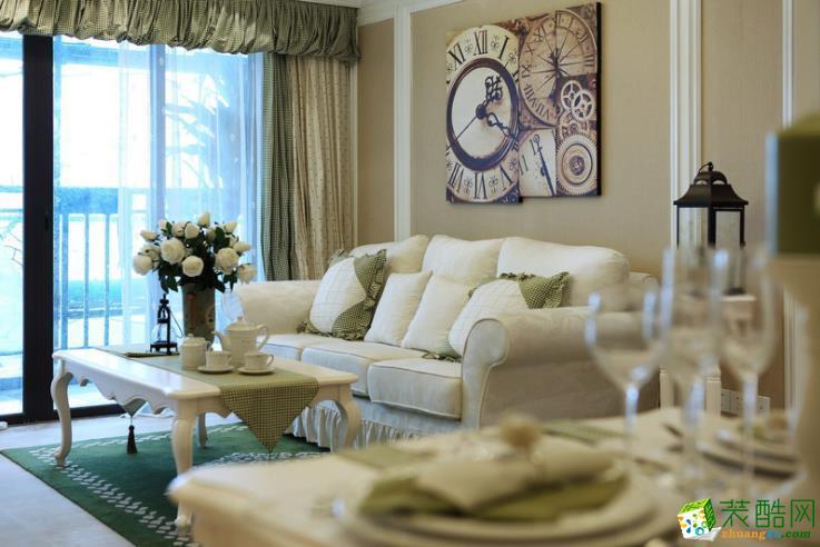 联度装饰―96�O三居室英式风格案例图