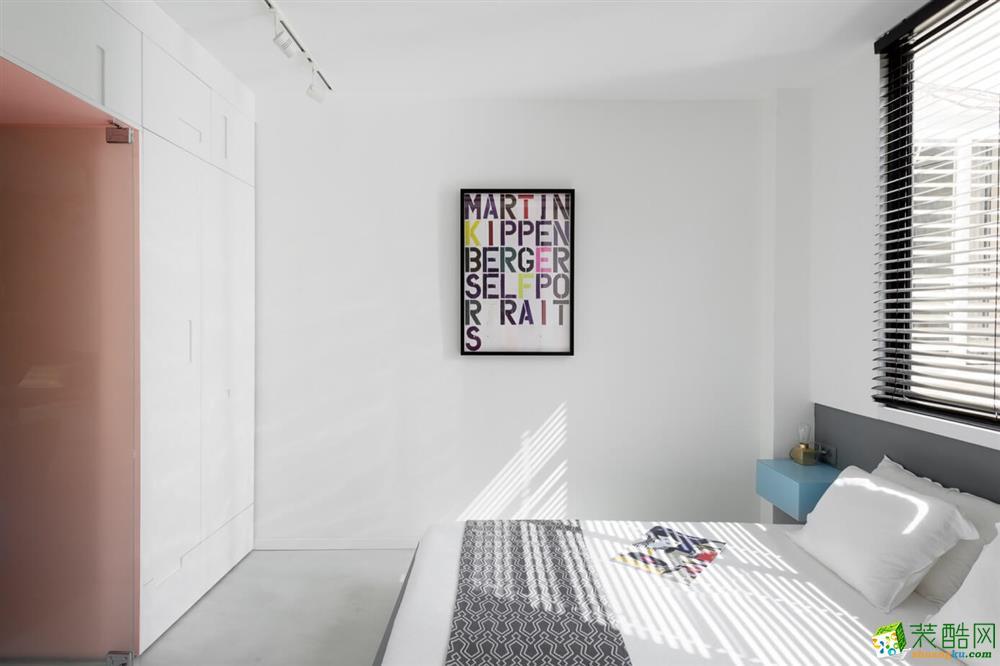三合裝飾-得力宸園95平北歐風格裝修效果圖