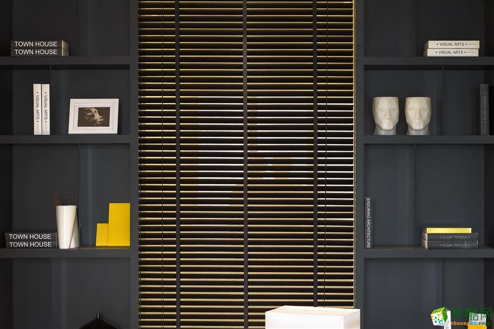 常州佳业欣装饰-120平米简约四居室装修案例