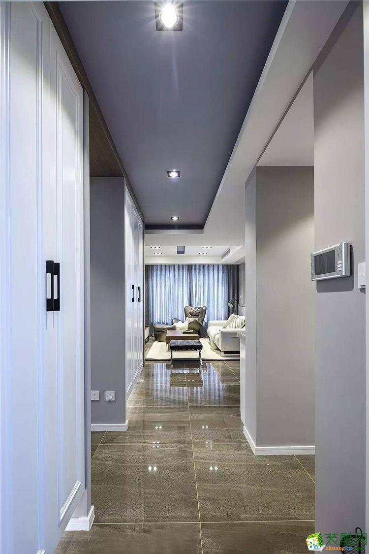 安顺100平三室两厅一卫现代简约风格装修效果图