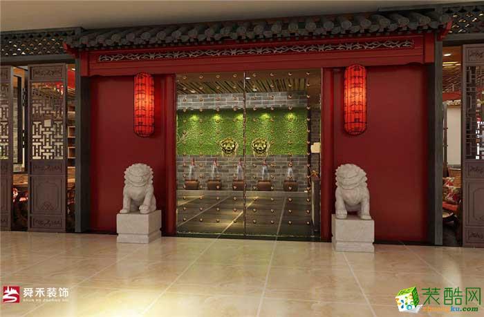 東方茶韻濟南中式茶樓茶館裝飾裝修設計公司