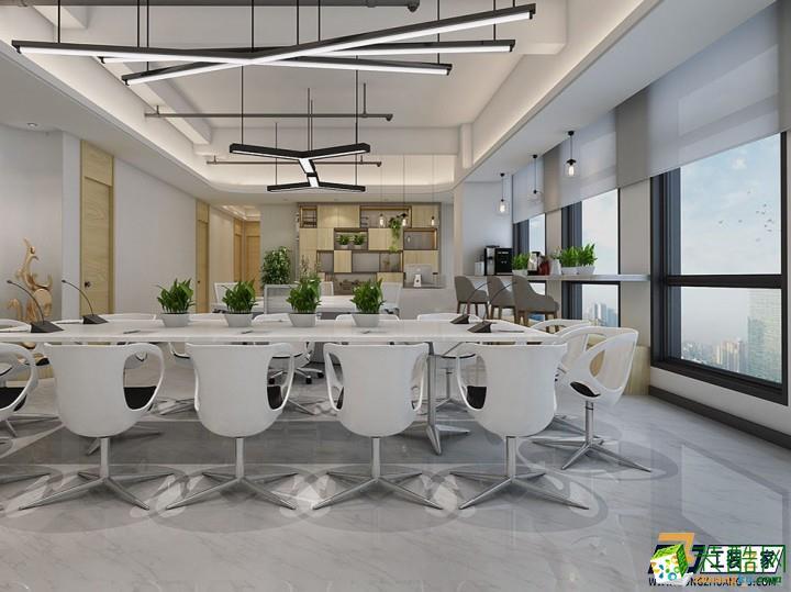 西安逸翠园i都会办公室装修案例