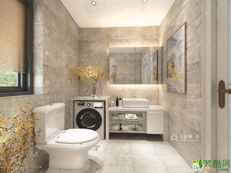 金螳螂裝飾-180平大平層裝修效果圖_現代風格-三室兩廳兩衛