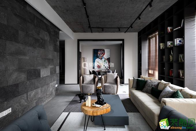 【俏业家装饰】喜马拉雅4房|极素现代风格装修