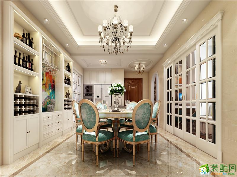 南國鼎峰-廣元豪宅歐式裝修案例效果圖_歐式風格-四室兩廳兩衛