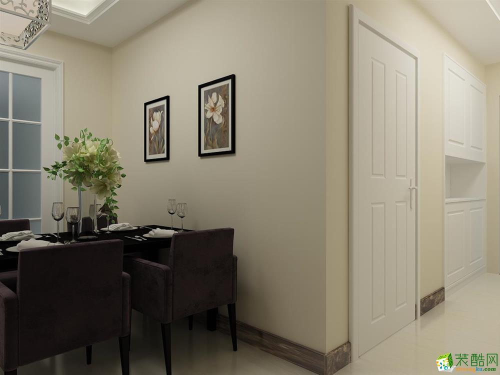郑州西雅图120平现代简约三室两厅案例