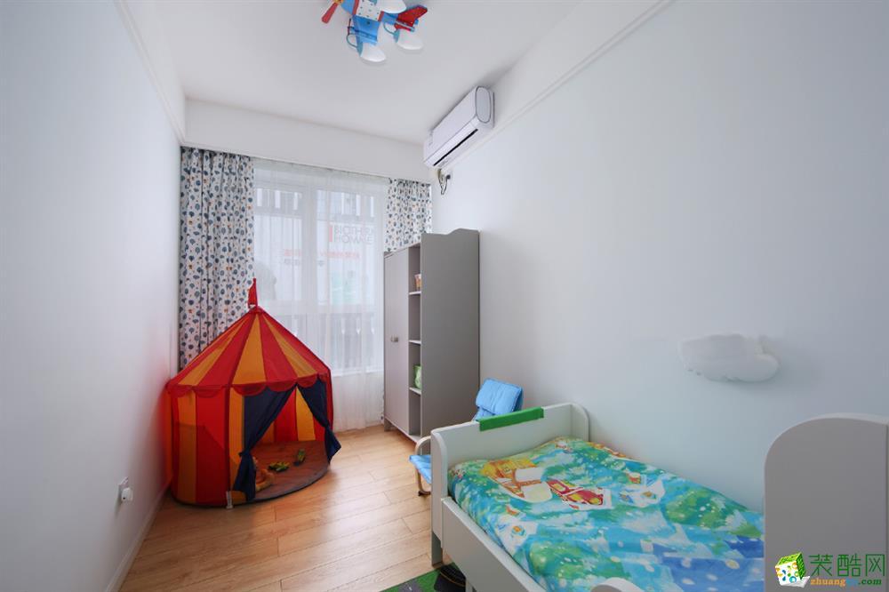100三居室北欧风格装修效果图