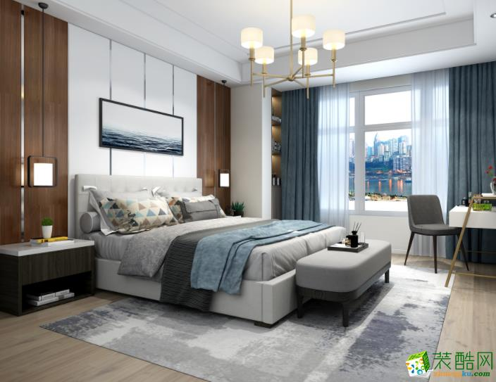 济南乐家网-85平米北欧两居室装修案例