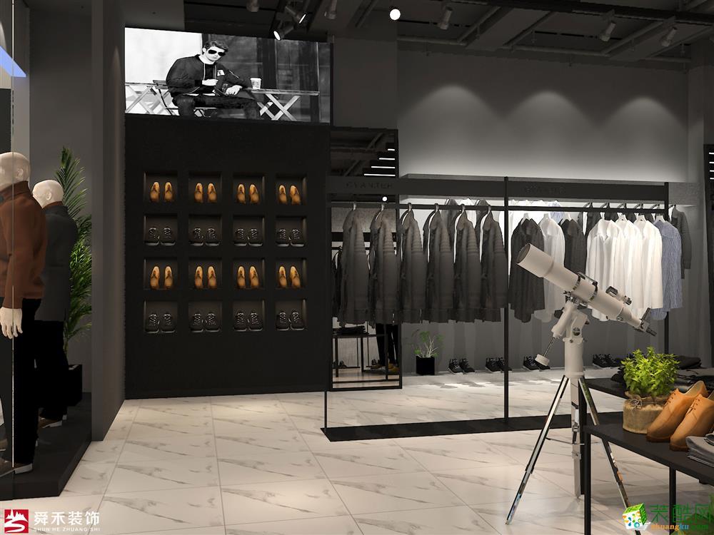 濟南商場店鋪服裝店男裝店女裝店裝飾裝修設計公司