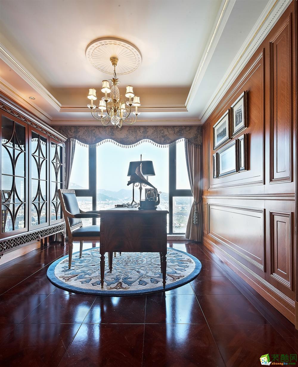 观岚装饰-丹桂苑142平法式风格装修效果图_法式风格-四室两厅两卫