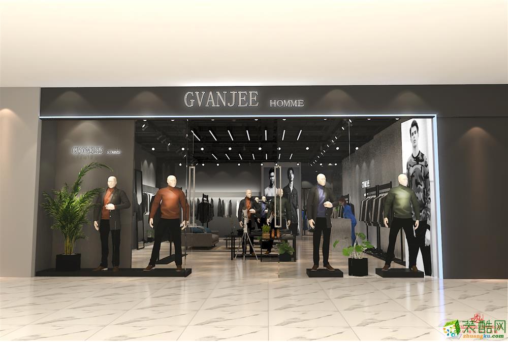淄博商場店鋪品牌服裝店裝修公司裝飾設計公司