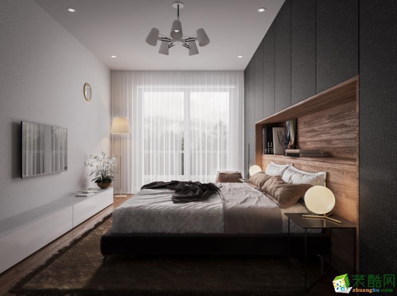 济南拓野装饰-90平米3室现代风格装修图
