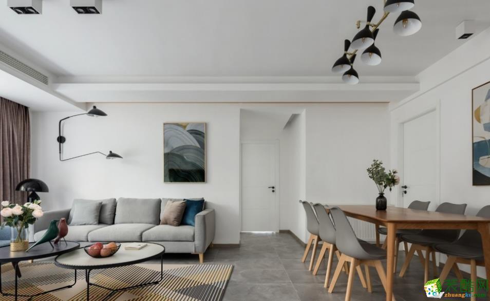 昆明144平米四居室装修效果图-创艺装饰