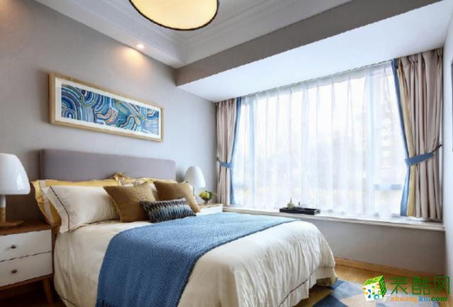 济南90平米装修-简约两居室装修案例