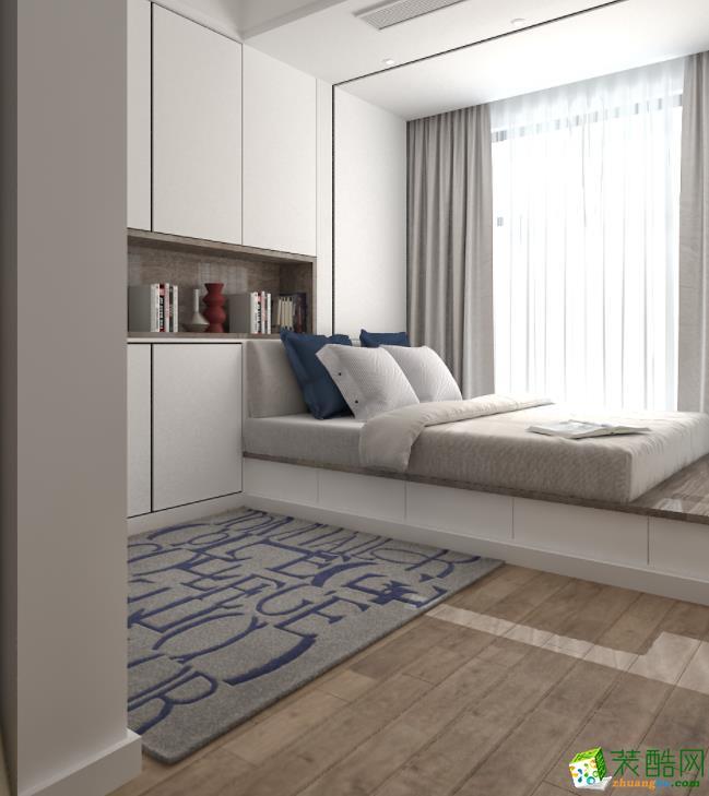 济南130平米装修-现代简约三居室装修案例
