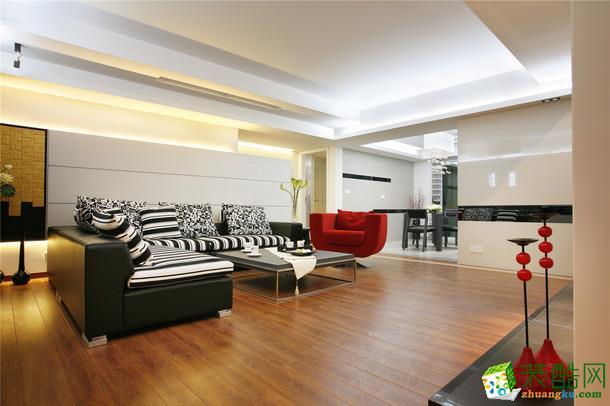 【维享家装饰】中亿阳明山水120�O现代简约三居室