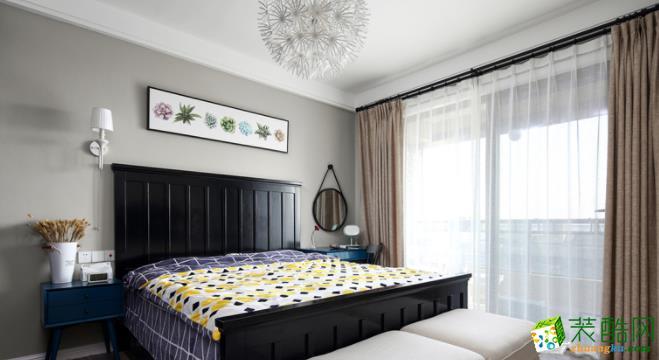 西安大象空间装饰-115平米混搭三居室装修案例
