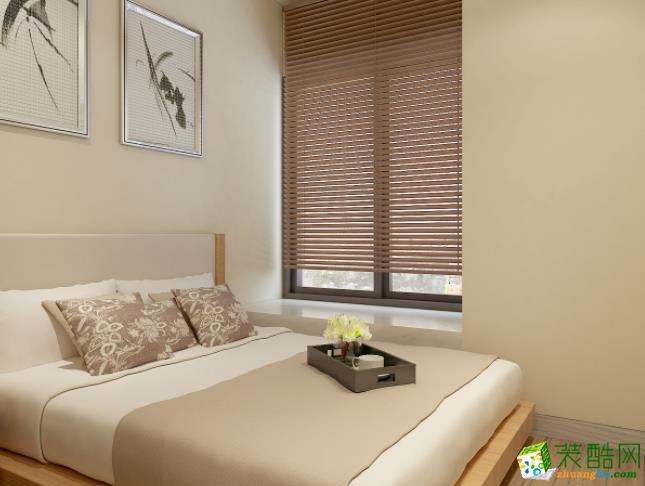西安大象空间装饰-120平米中式三居室装修案例