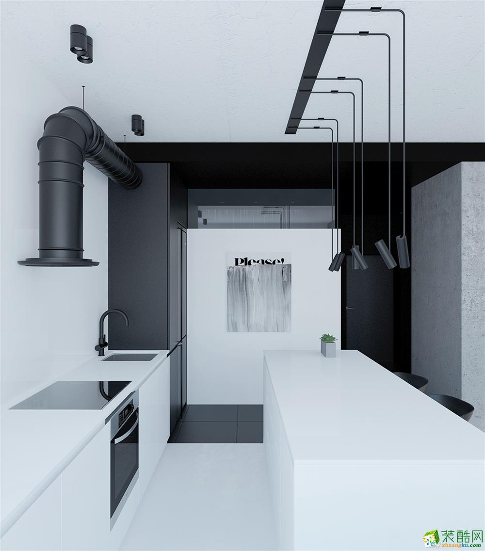 博同裝飾-維科東院130平北歐風格裝修效果圖