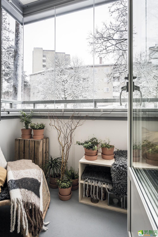 领域装饰-天沁家园85平北欧风格装修效果图