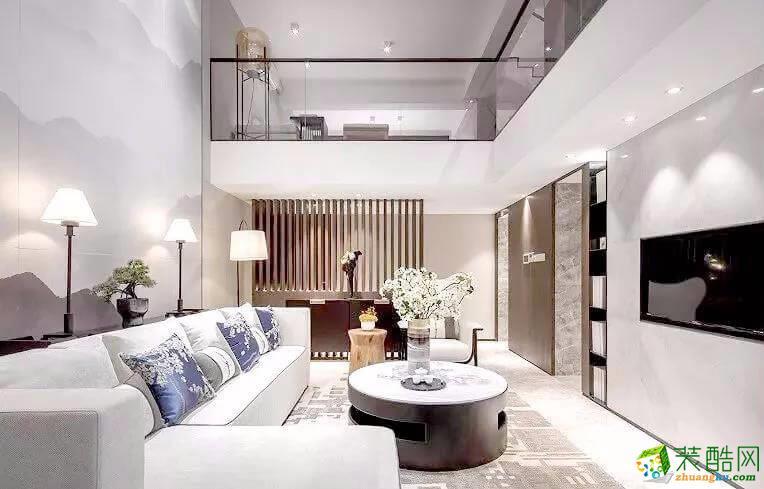 广安三室两厅装修-265平米新古典风格装修案例图-梦之家装饰