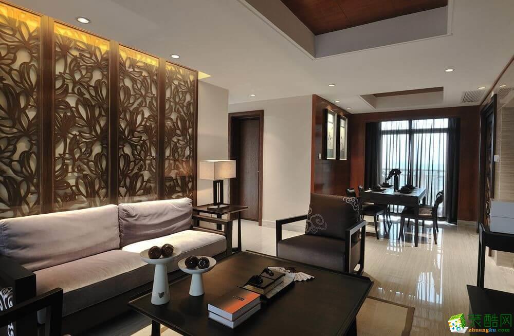 成都四室两厅装修-140平米东南亚风格装修案例图-雅舍帝成