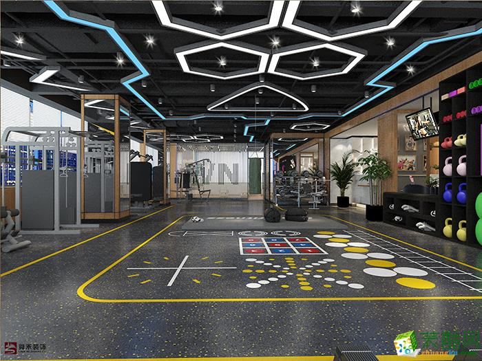 济南运动空间瑜伽馆健身房俱乐部会所装修装饰设计公司