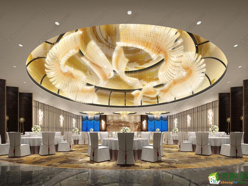 山东淄博张店宴会厅会议厅会议室装修装饰设计施工公司