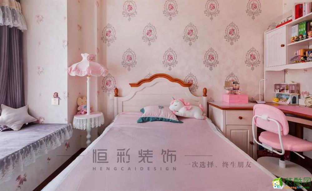 【蓝色霞湾】98㎡美式 | 老房翻新记:光阴的宅变_美式风格-三室两厅两卫
