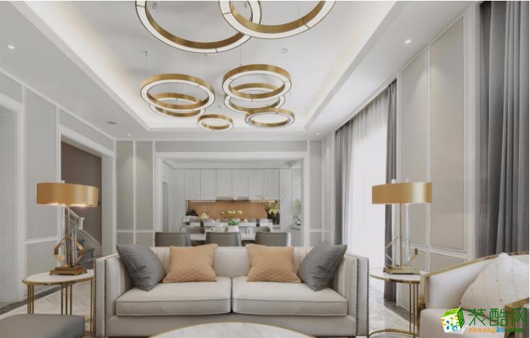 南昌总裁装饰-欧式四居室装修效果图_欧式风格-四室两厅两卫