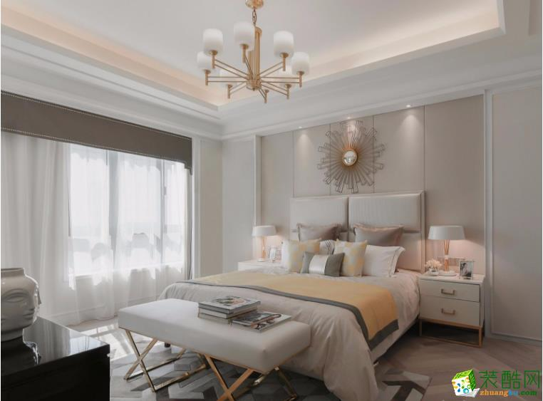 南昌总裁装饰-欧式四居室装修效果图