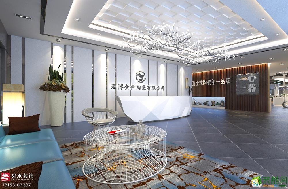 济南产业园企业数字多媒体互动的展厅展示装修设计公司