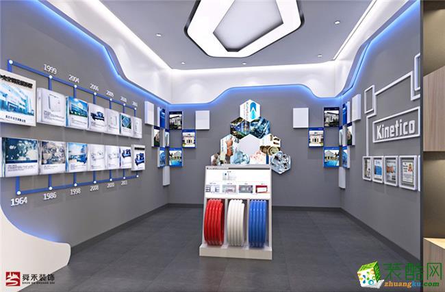 济南企业农业产品展厅展示展览文化党建馆装修设计施工公司