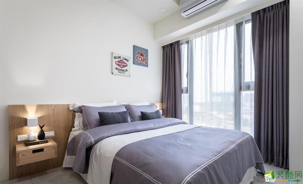 苏州92�O两室一厅一卫北欧风格设计作品