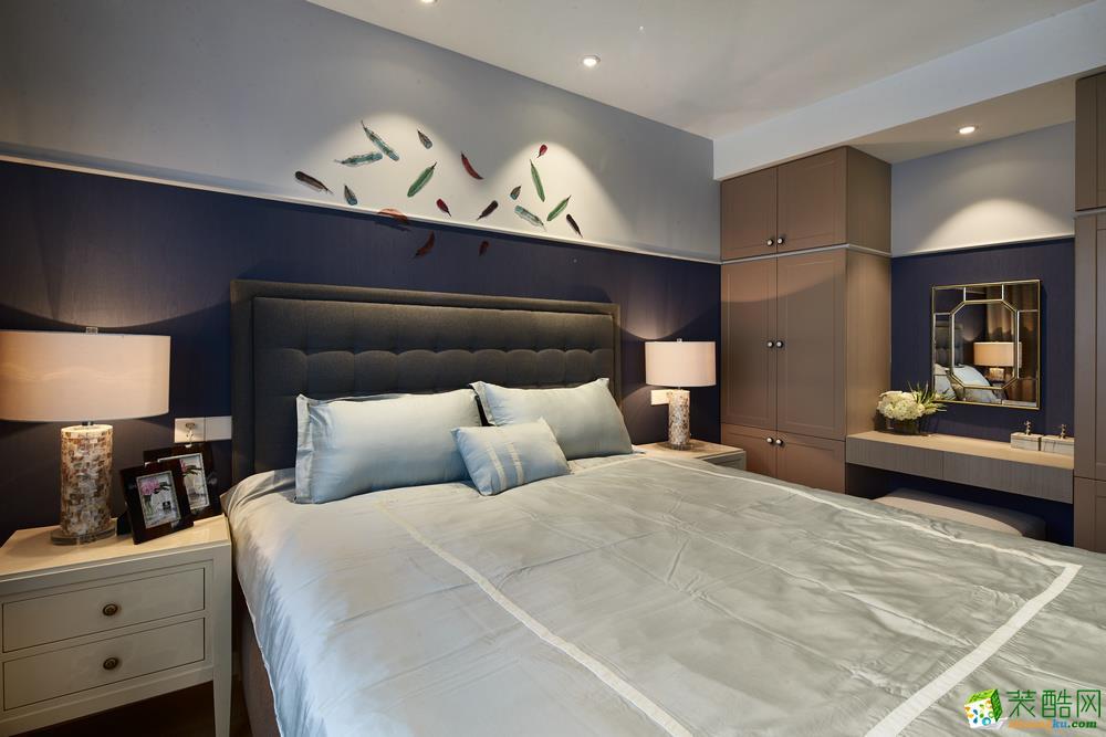 苏州82�O两室一厅美式风格装修设计效果图