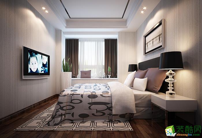 106三居室现代风格装修效果图