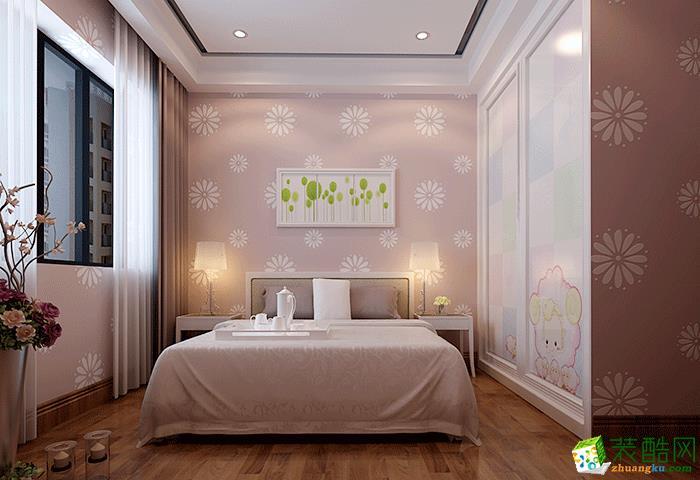 70平米二居室简欧风格装修效果图