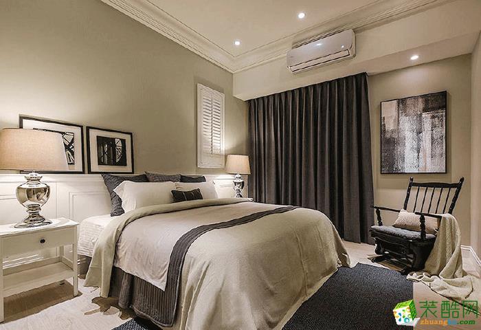 120三居室现代风格装修效果图