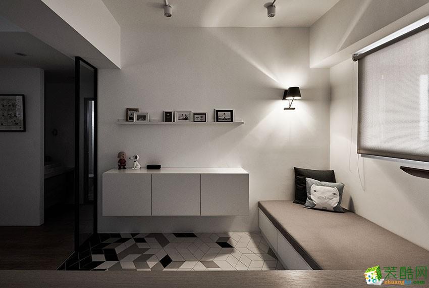4万打造63平现代极简居室