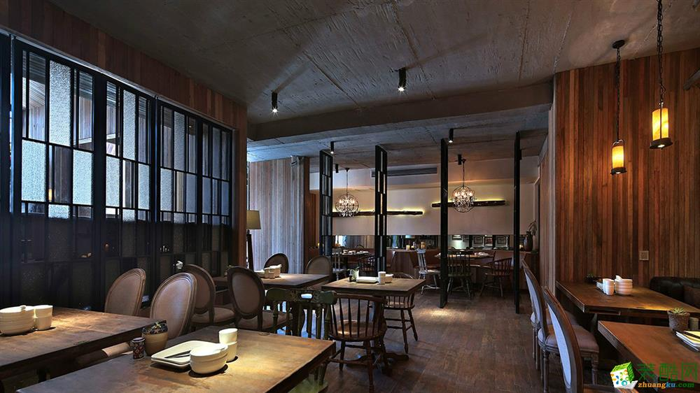 广州主题餐厅餐饮店铺空间设计